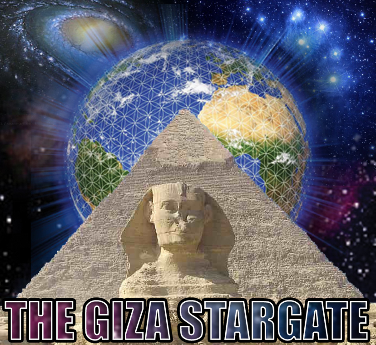 Both the Sphinx and the Giza Pyramid were built to cover an ancient portal or star gate system that allows the users to travel the stars without space ships.