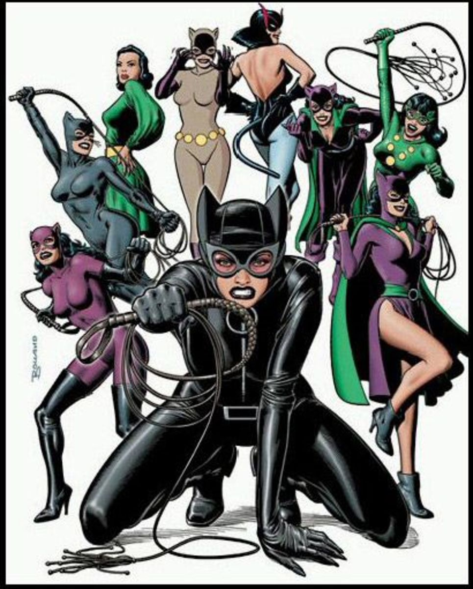 The Catwoman costume history - changes made through the years