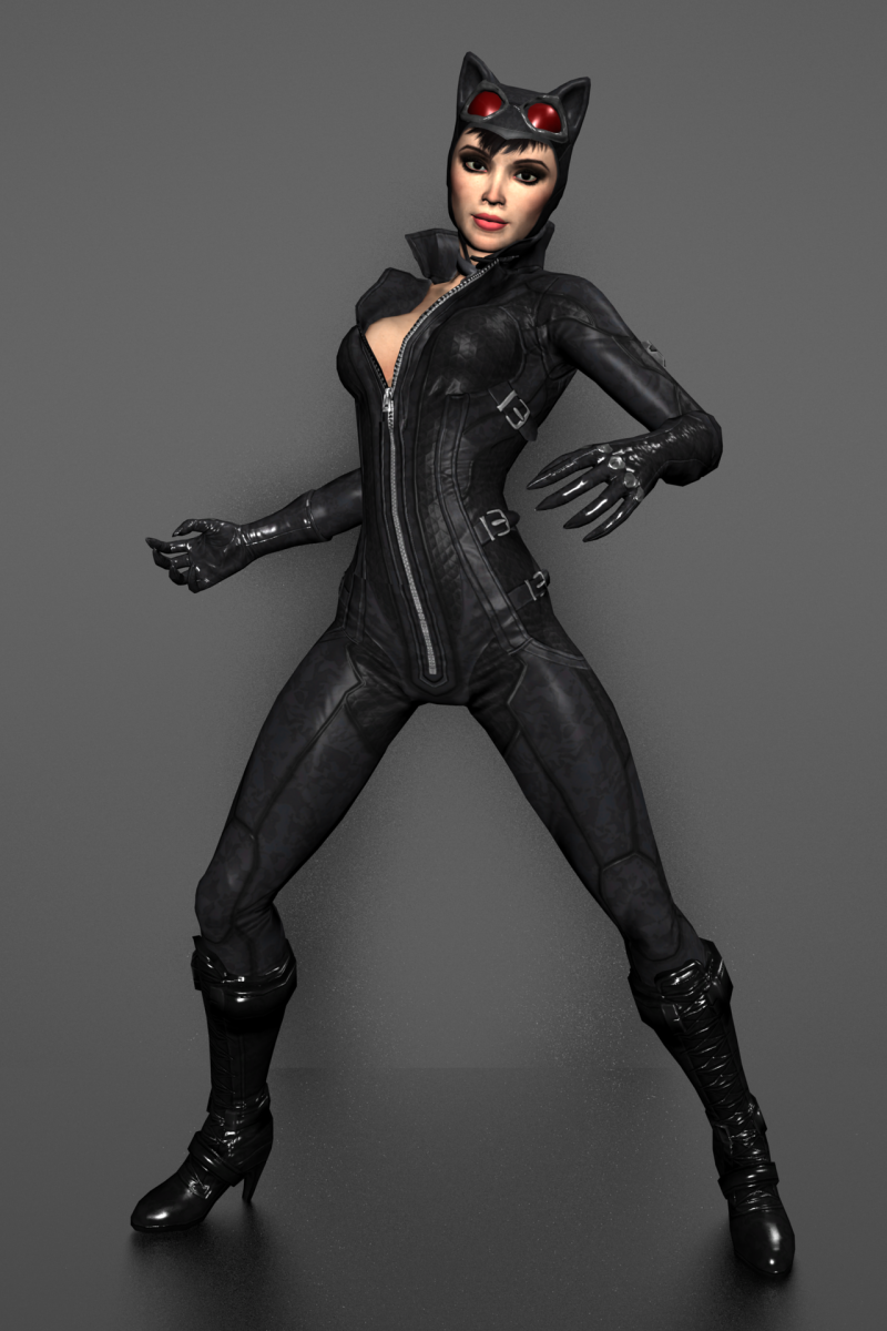 The purrr-fect catsuit for Halloween
