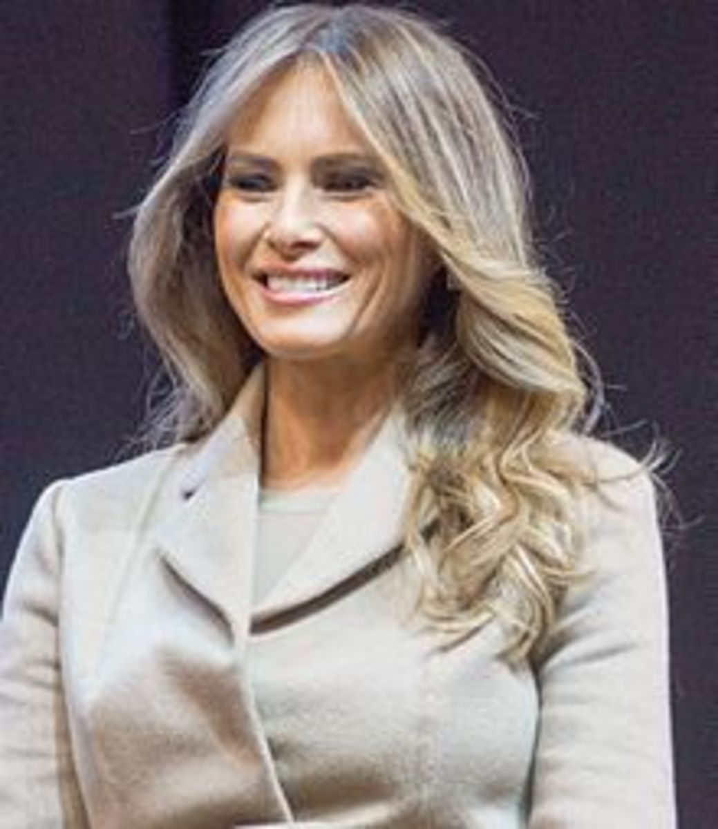 Learning Slovene with Melania Trump