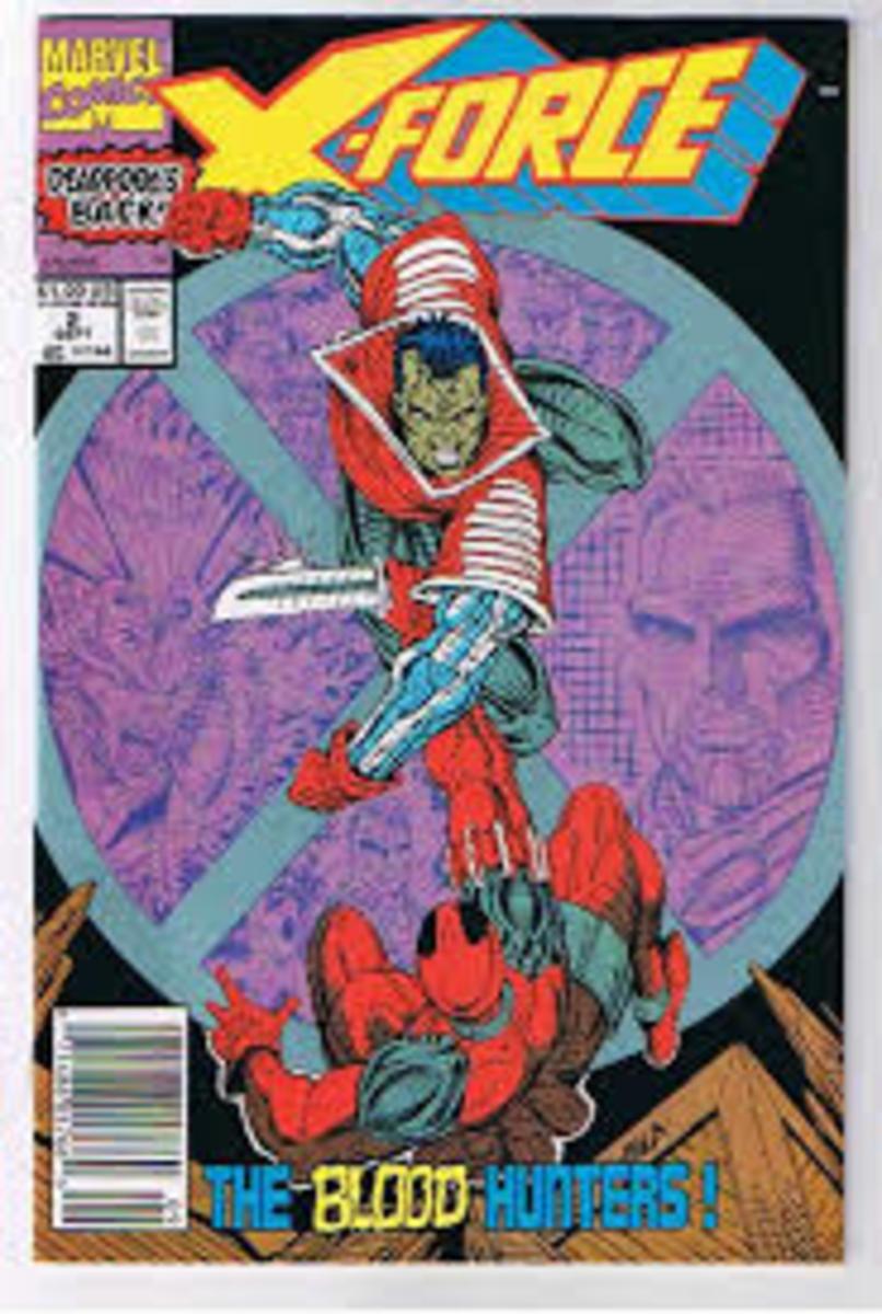 X - Force # 2 Deadpools 2nd appearance.