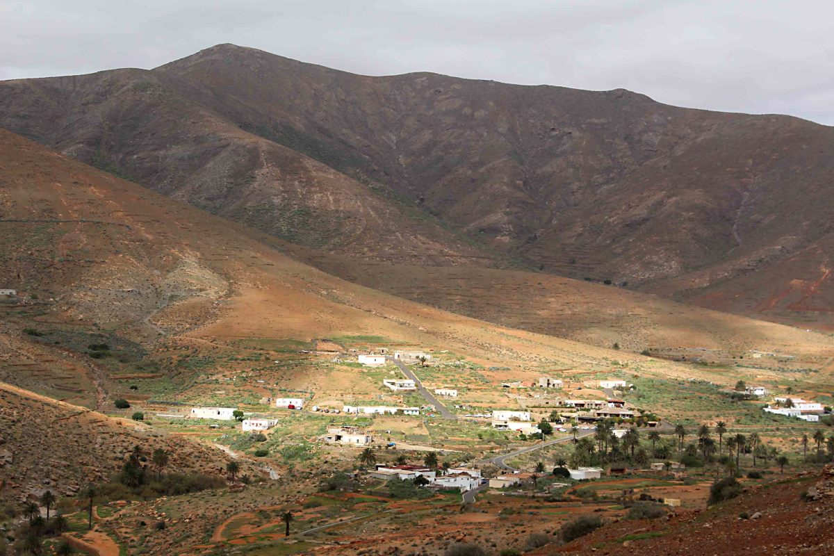 The small village of La Vega de Rio Palmas in the municipality of Betancuria