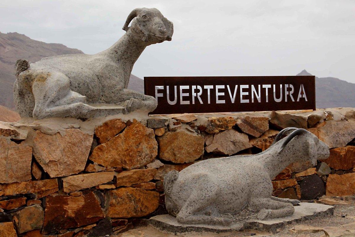 Goat monument