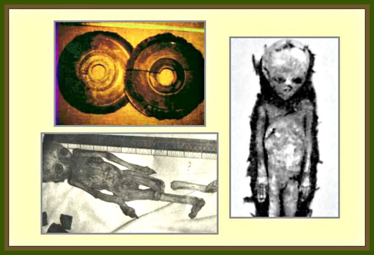 The Little People that fell from the Stars, UFOs & the Disks of the Bayan Har Mountains