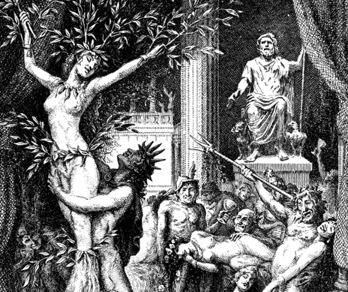"""Here we show a portion of 'He personated Apollo himself' - it is from the suite prepared by Frank C Pape published in """"Suetonius' Lives of the Twelve Caesars"""" (1930)."""