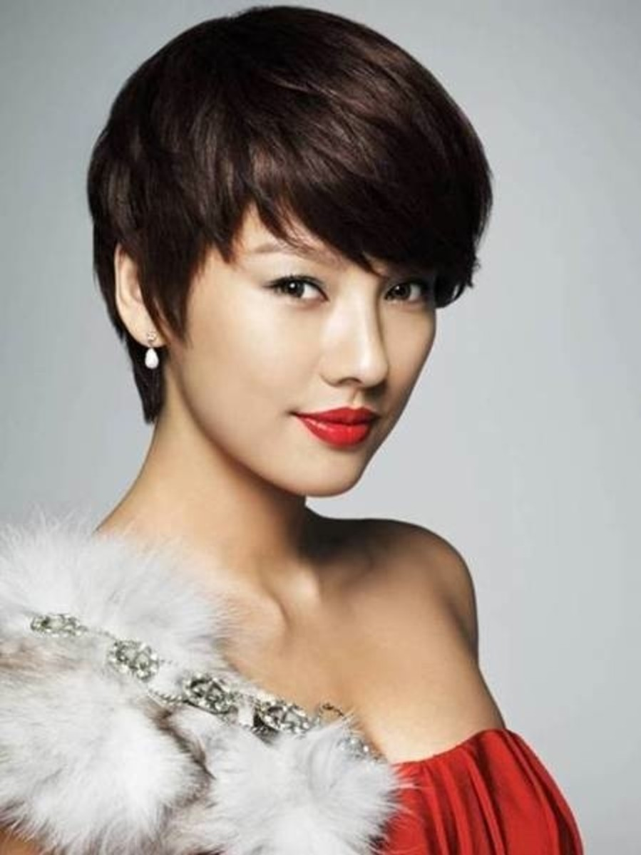Hyori Lee with short hair!