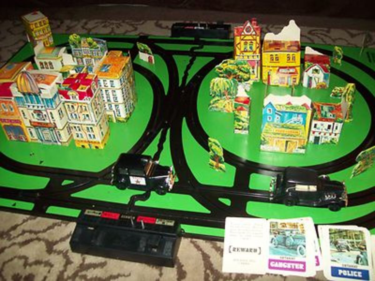 "DX Board game, Playing the Big City Police & Gangsters Game ... The ""Justice Card"" will determine who was at fault in the collision and will determine if a penalty or reward should be judged."