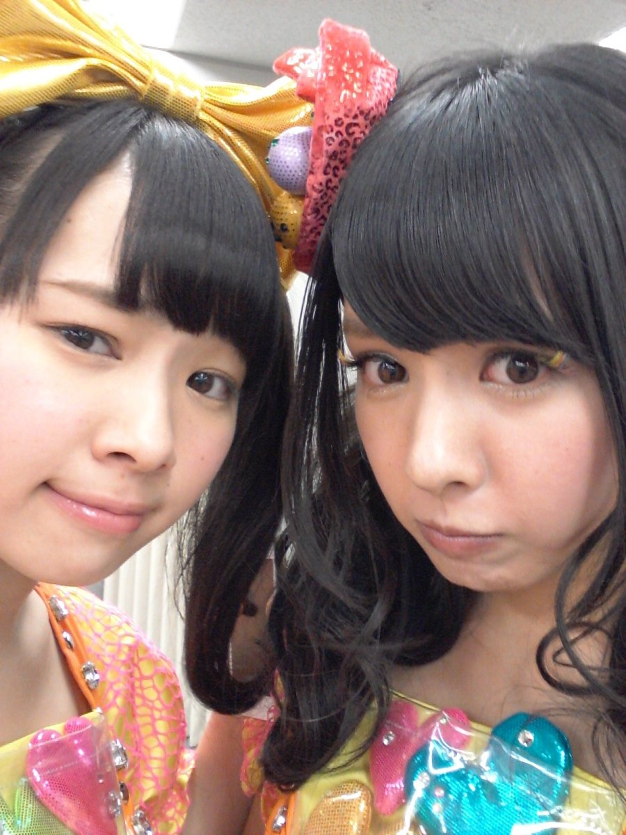 Mayu Ogasawara is on the left of this photo.