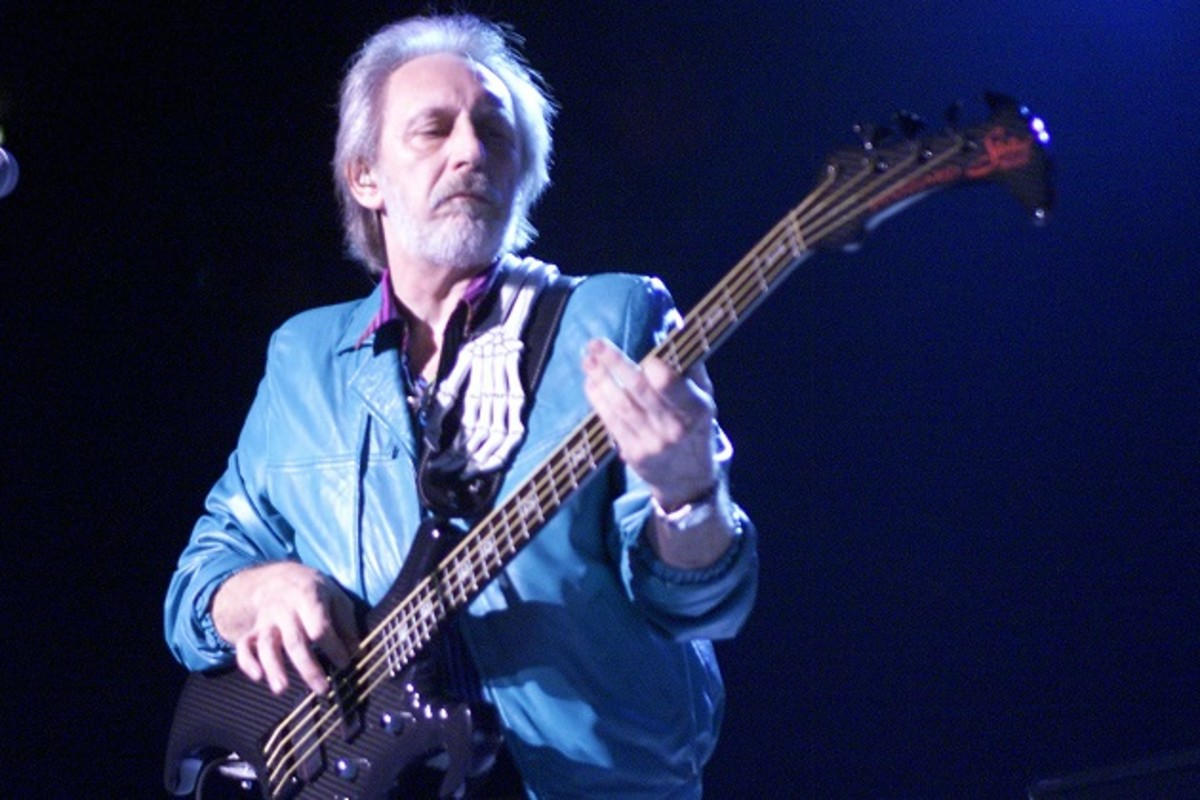 The Who legendary bassist