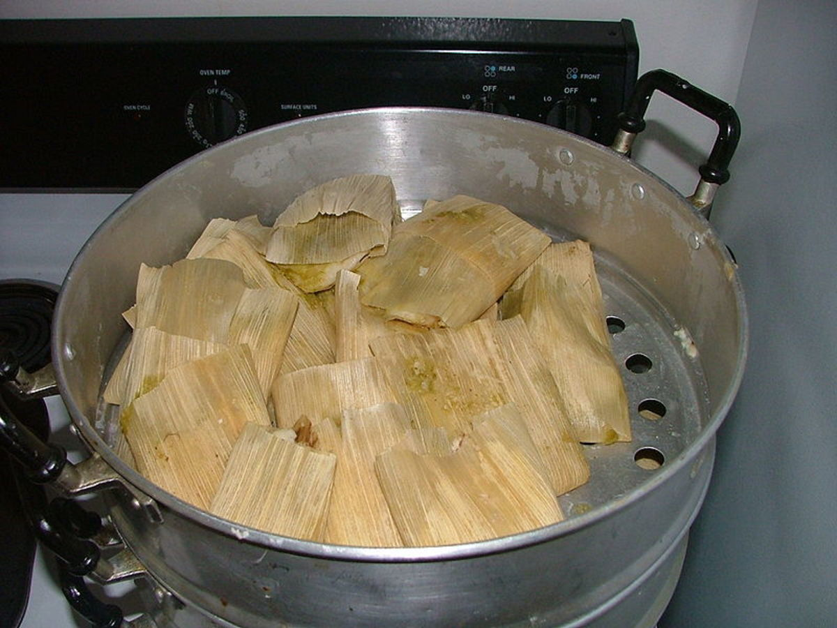 Mexican Food Tamales