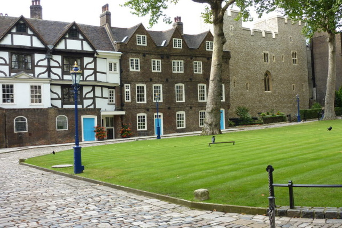 Tower Green and the Beauchamp Tower