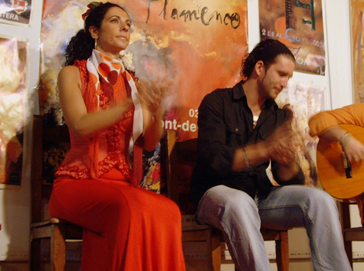 Flamenco palmas and jaleo are a vital part of a flamenco performance