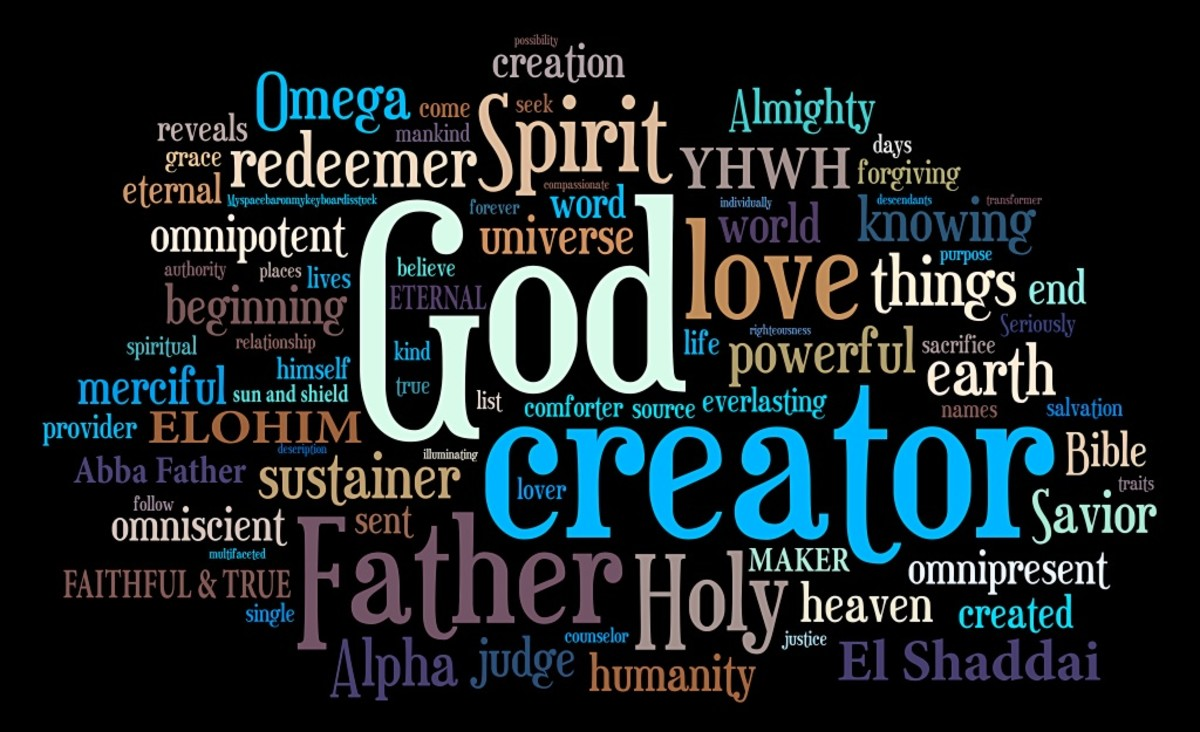 How Great is Father God, El Shaddai? (6/5/2016, Message#5)