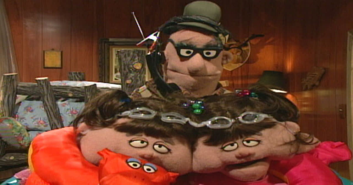 Adam Corolla voiced Birchum in Crank Yankers. Birchum also had conjoined daughters.