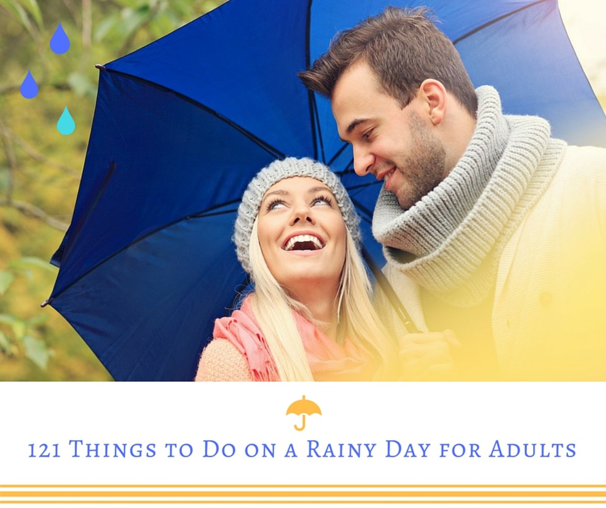 121 Things to Do on a Rainy Day for Adults