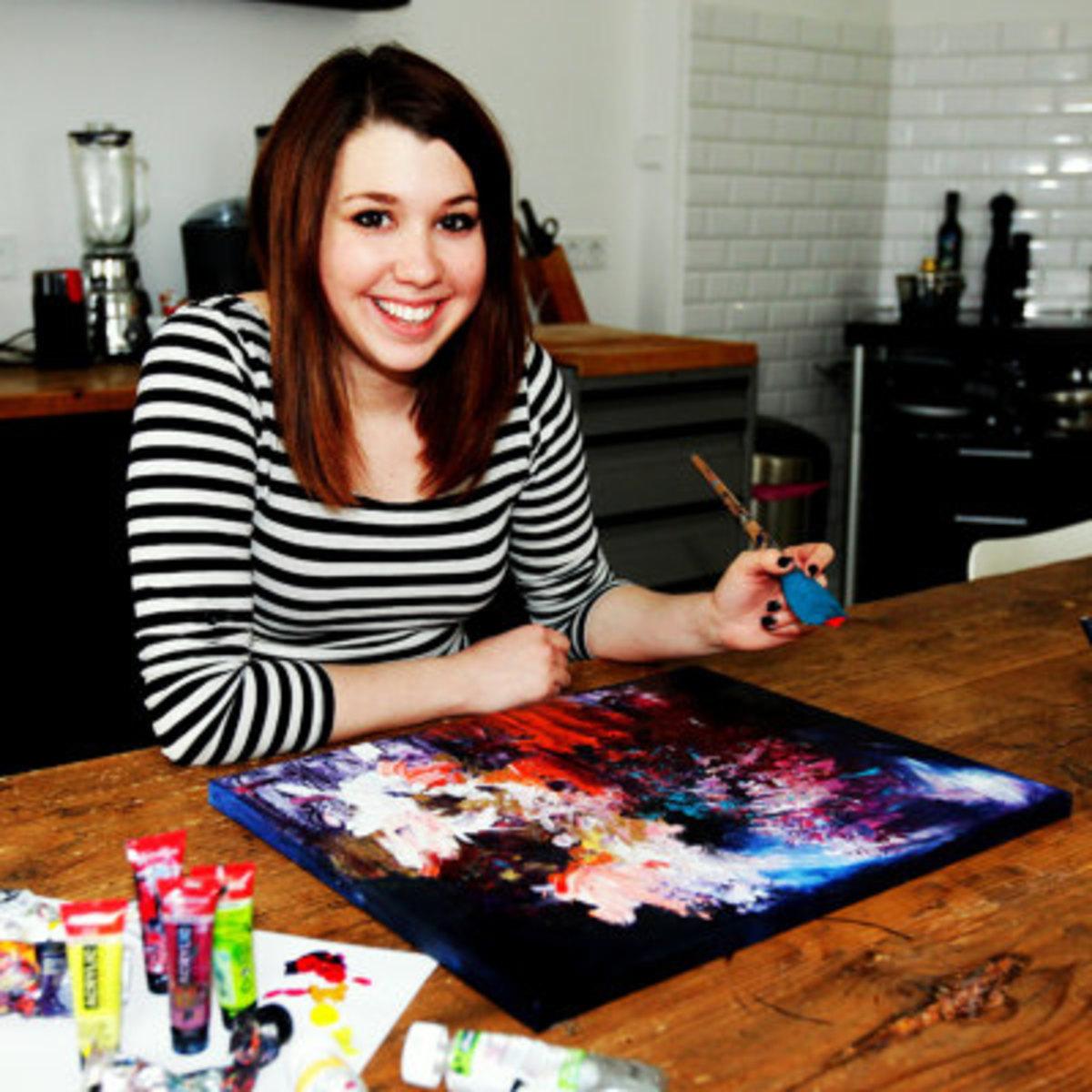 Melissa Mccracken synesthesia artist