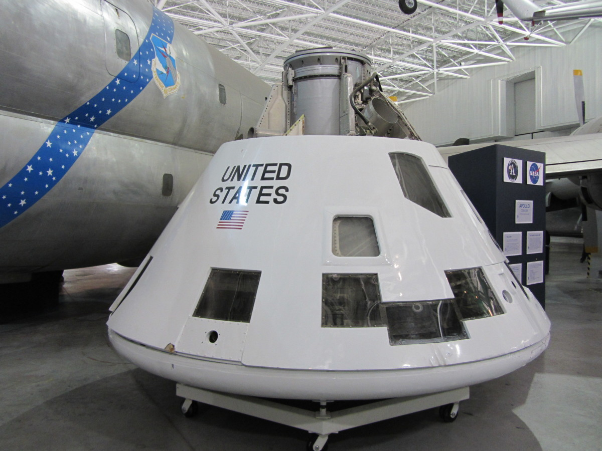 "The ""Apollo 2"" capsule today."
