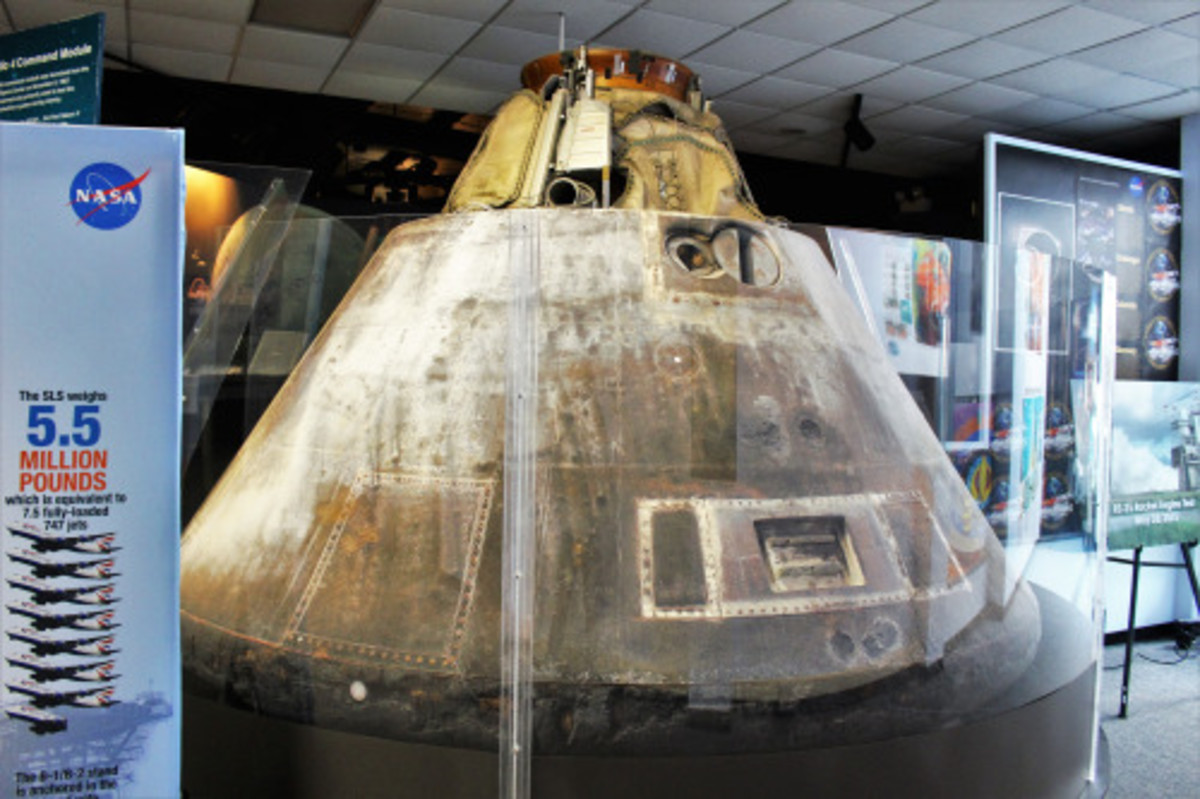 Apollo 4 on display.