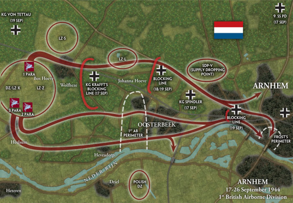 The 1st Airborne at Arnhem saw an increasing German build-up, notably SS units and particularly SS Panzers - intelligence ignored their reported presence.