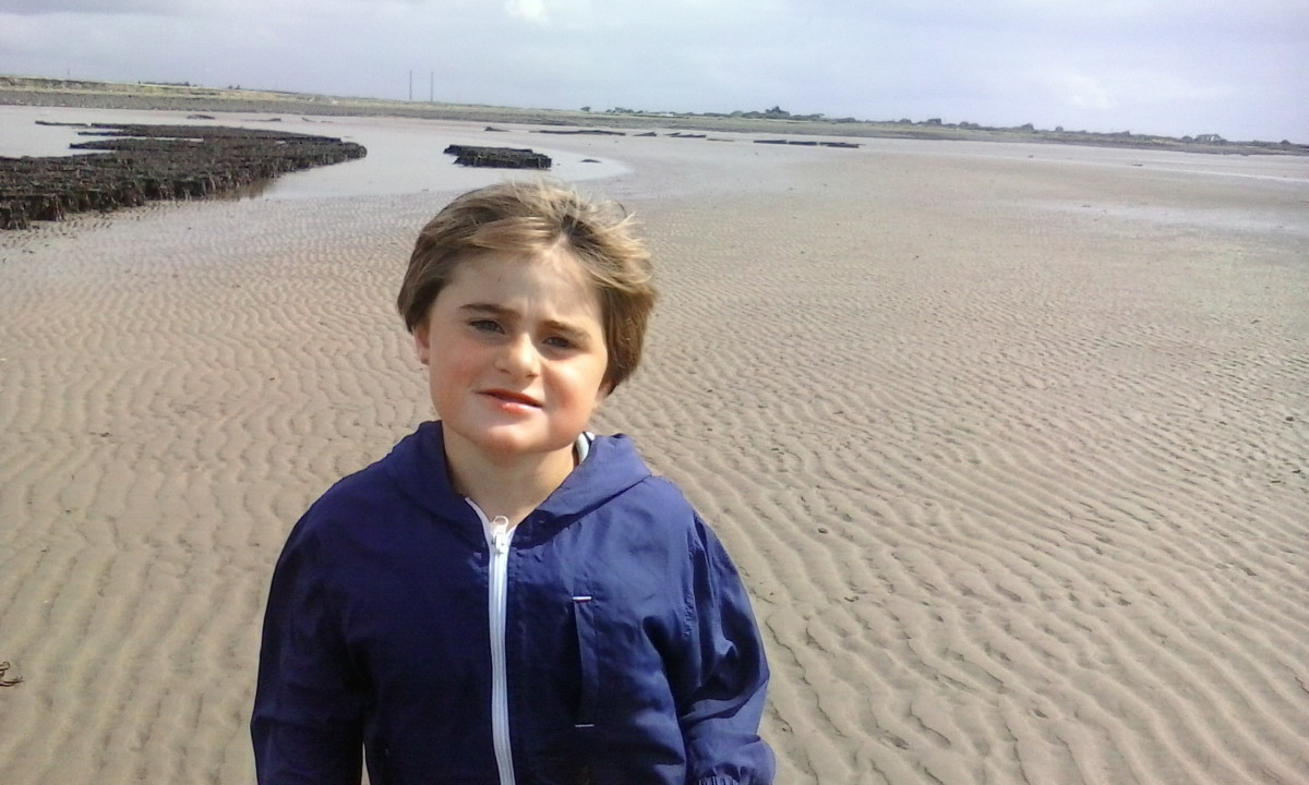 Our son Adam, who is being denied proper medical treatment here in Ireland for his serious Bowel issues.