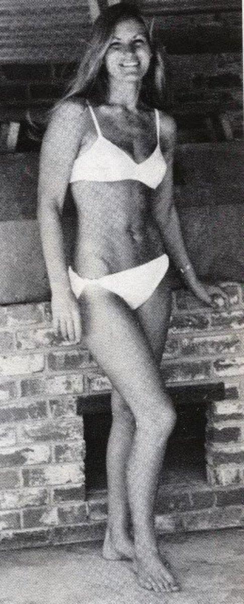 Female pro wrestler Marie Laverne
