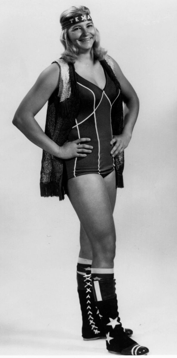Classic Female Wrestling - Sue Green