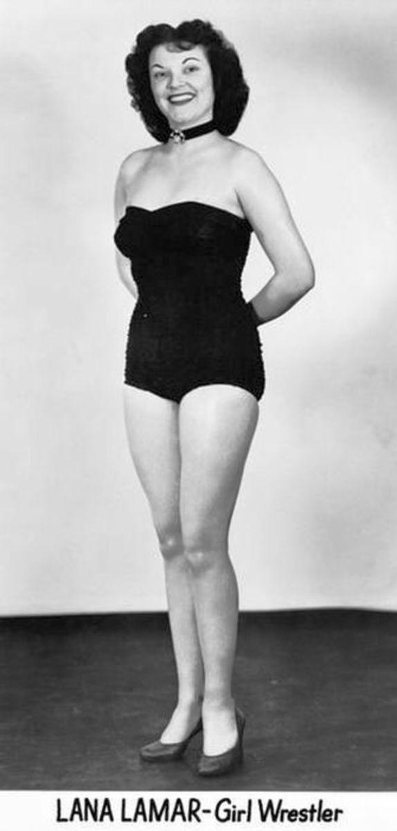 Lana Lamar - Vintage Women Wrestling