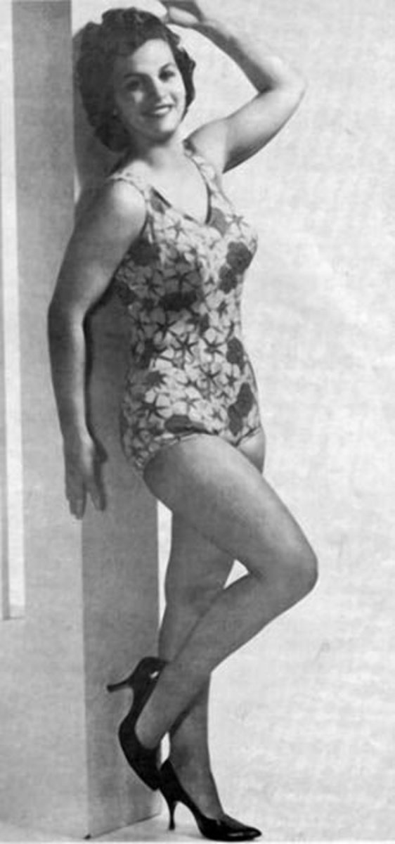 Classic female wrestler Bette Boucher