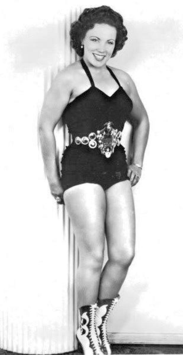 Classic Women's Pro Wrestling - June Byers