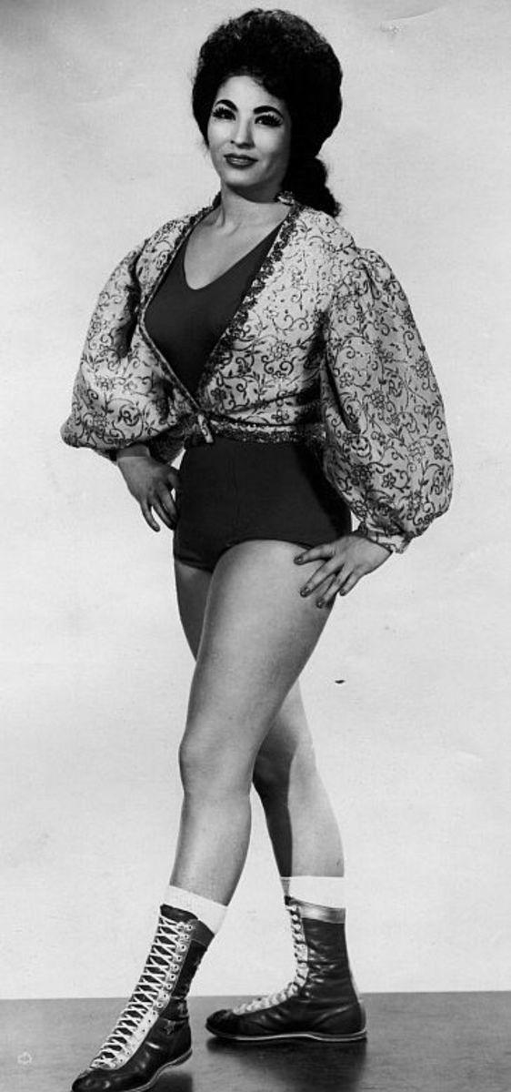 Rita Cortez - Vintage Female Wrestlers