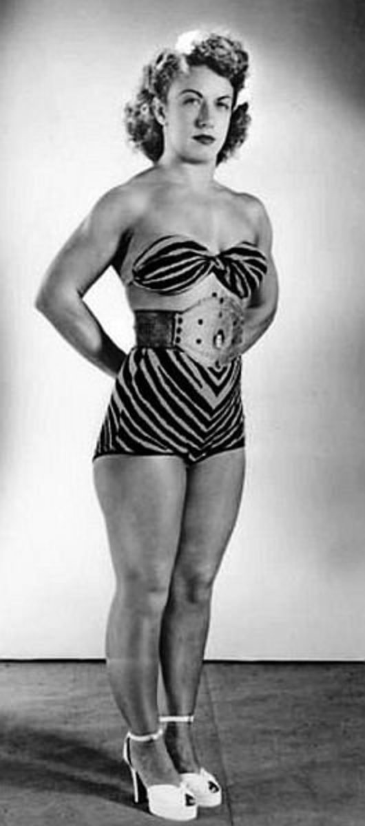 Classic Women's Pro Wrestling - Mildred Burke