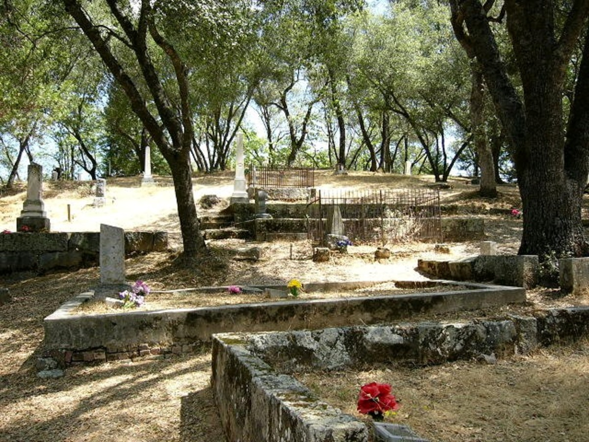 Haunted Cemeteries of Central California