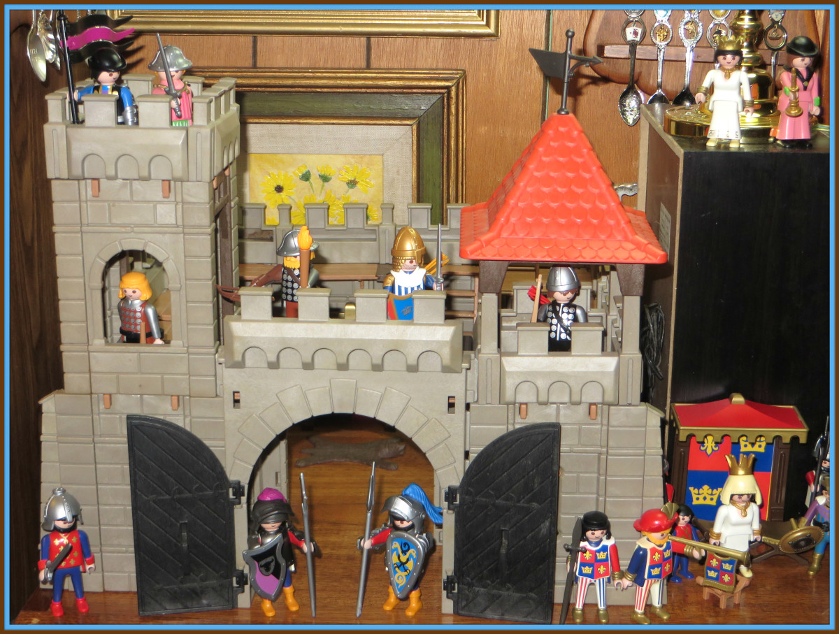 Playmobil knew the history of Chivalry and the decadence of the knights. In the 12th century, the clergy and the knights formed the aristocracy. The latter, too, and their period of great splendor.
