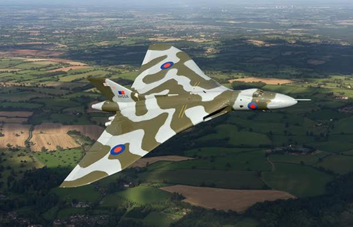 Early Vulcan suffered airframe failure and crashed killing the test crew