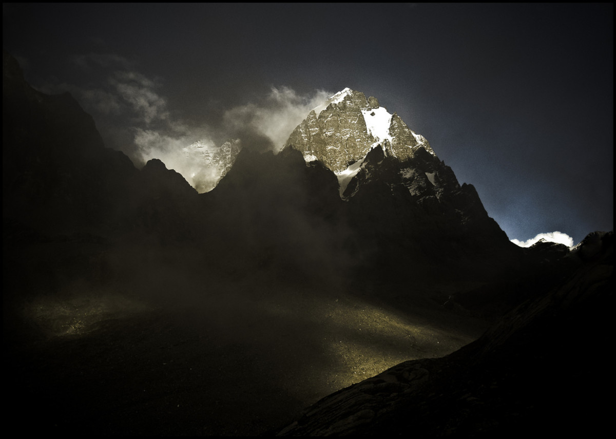 Mighty Manimahesh Kailash Peak in all its Splendour