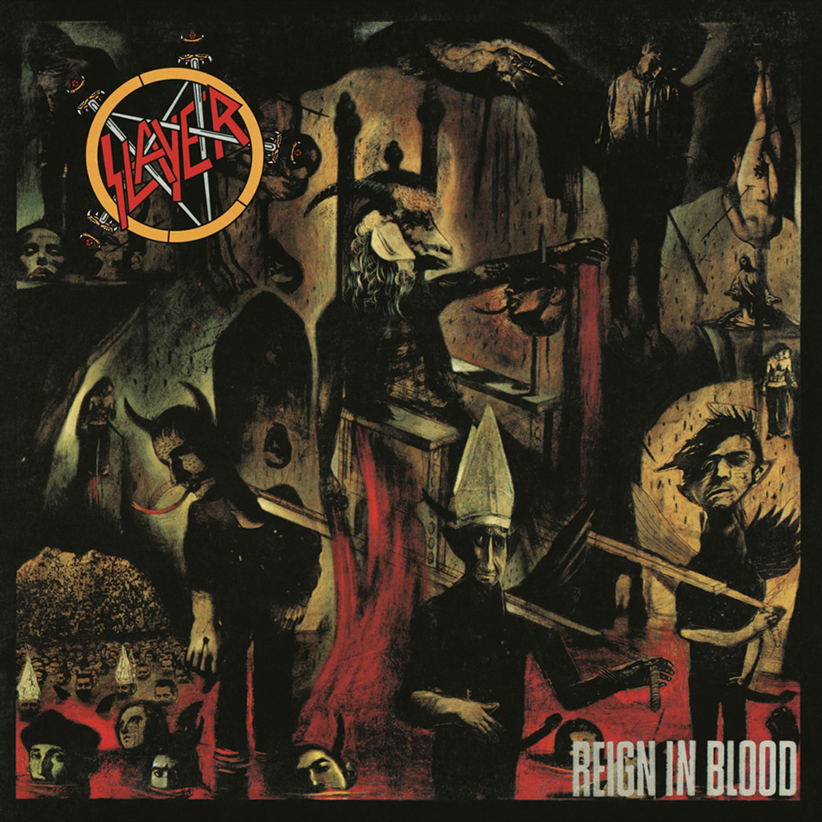 A Review of Reign in Blood the best album of American thrash metal band Slayer