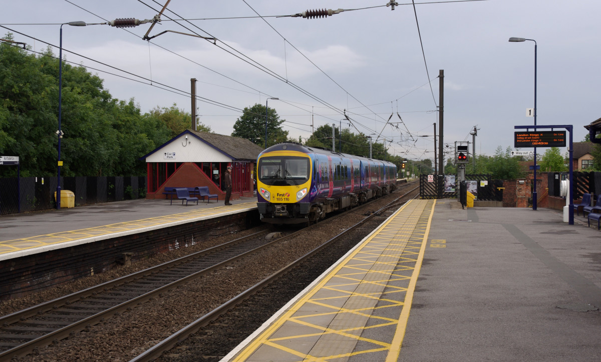 Northallerton Station in the second decade of the 21st Century, over a century and three quarters after the Great North of England Railway first came to the town