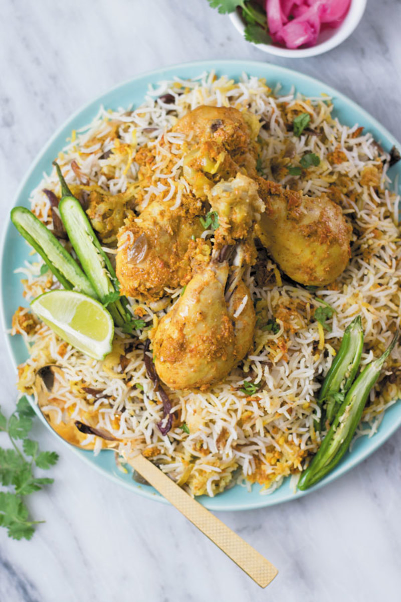 Slow Cooker Chicken Biryani