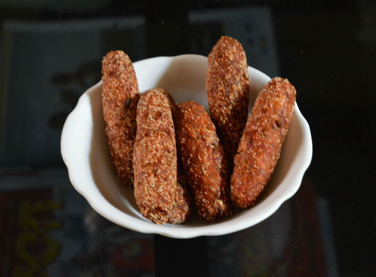 Healthy Snacks: How To Make Vegetable Bullets Which Are Super Crunchy?