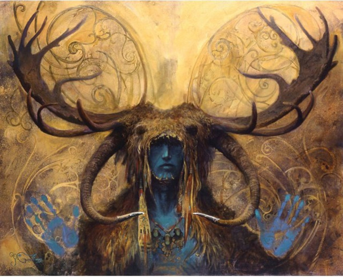 Cernunnos or Horned God