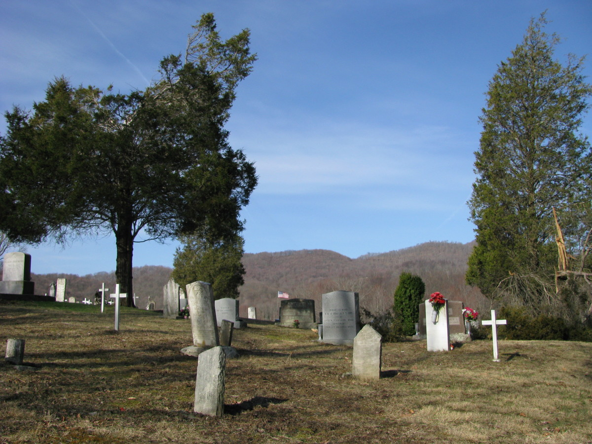 Haunted Cemeteries in West Virginia