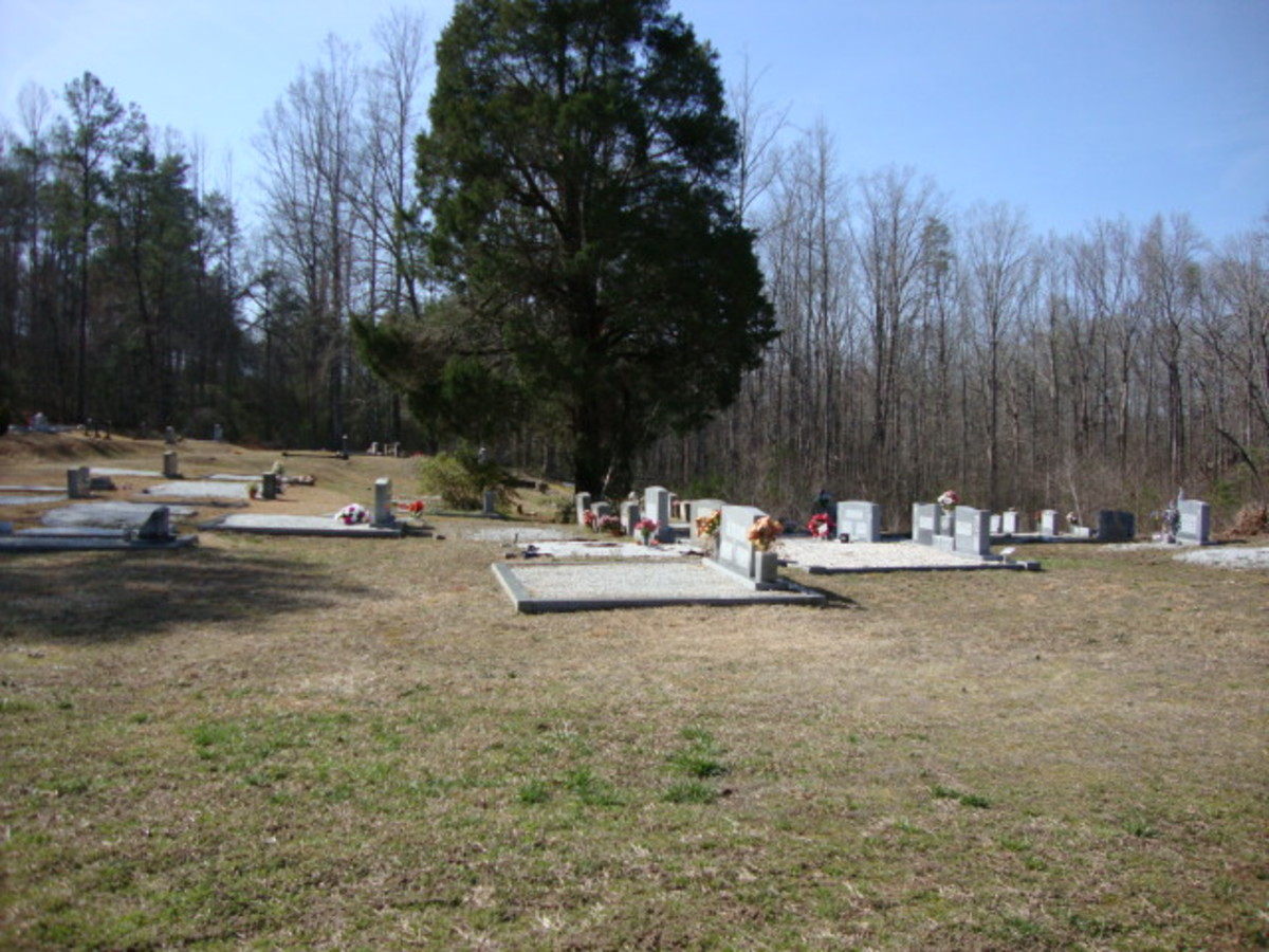 Haunted Cemeteries of South Carolina Part 1