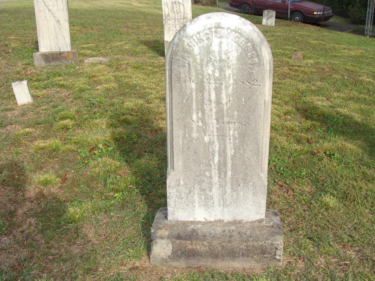 George Washington Combs 1792-1882 Photo Credit: Jerri Conrad