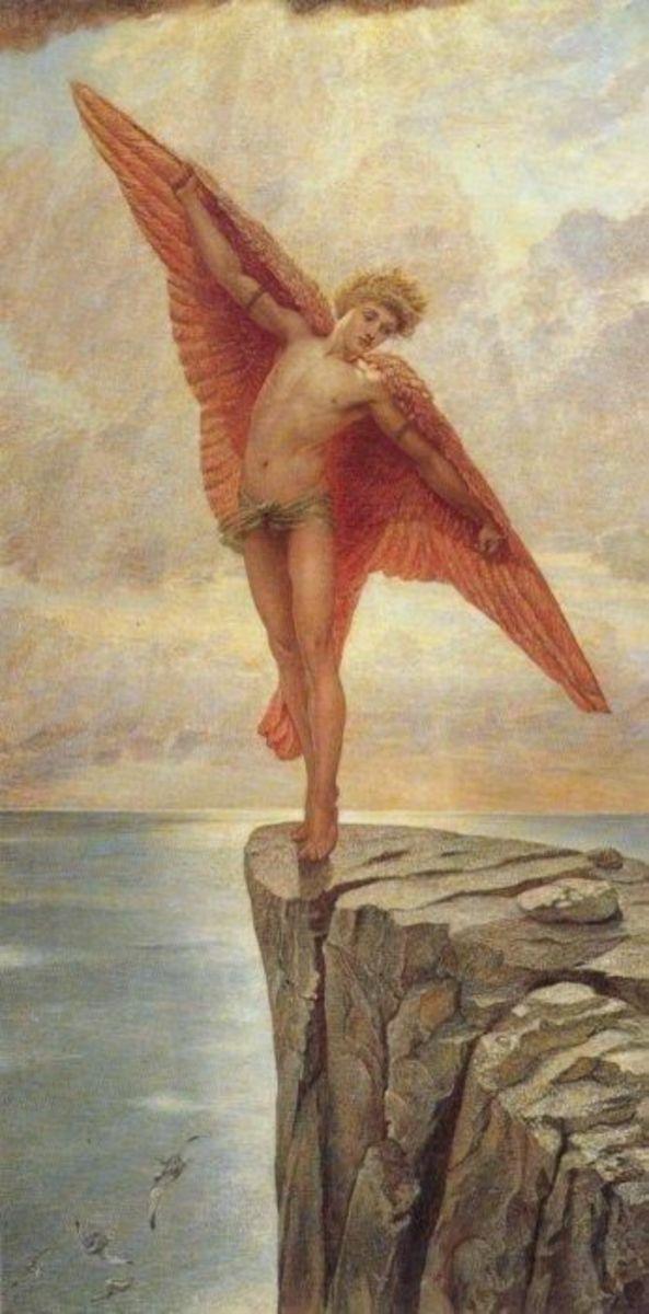 Icarus  by Sir William Blake Richmond, 1887