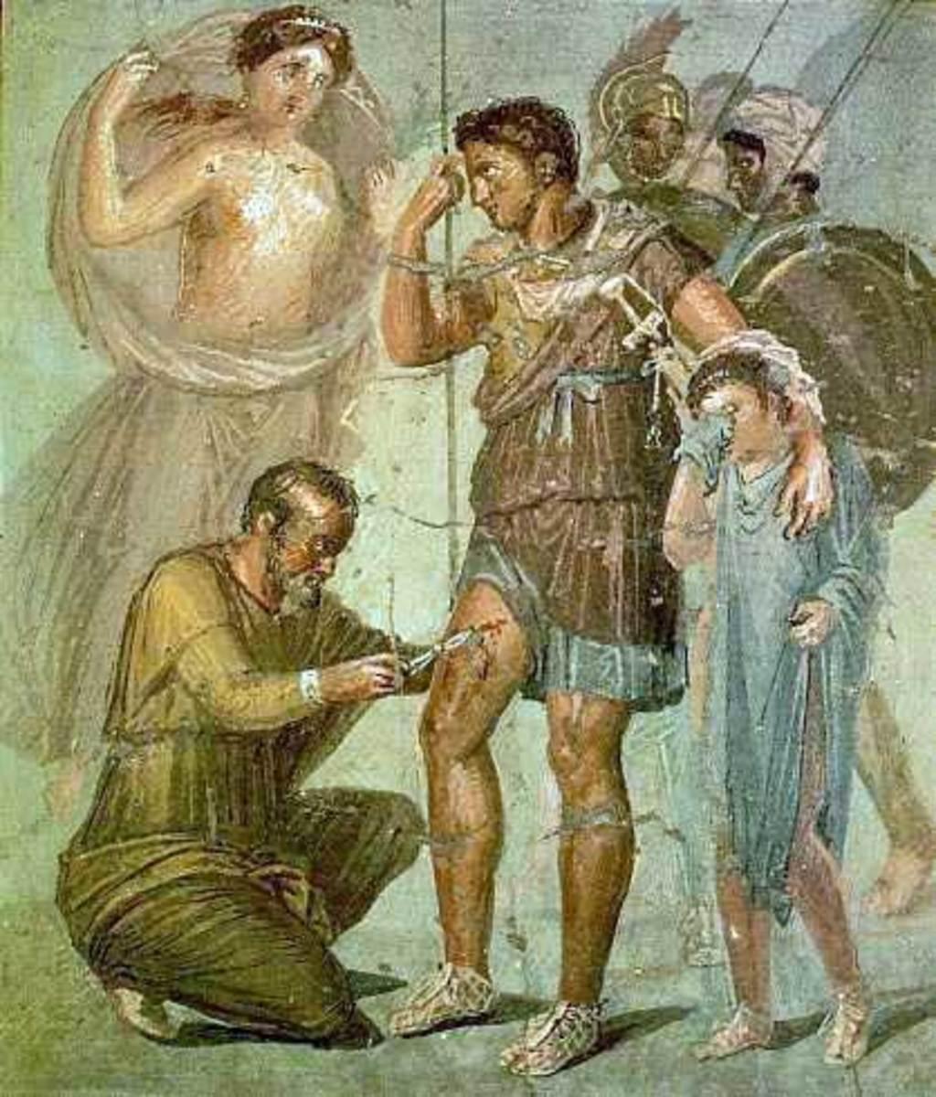 The Aeneid by Virgil: Aeneas Meeting Daedalus