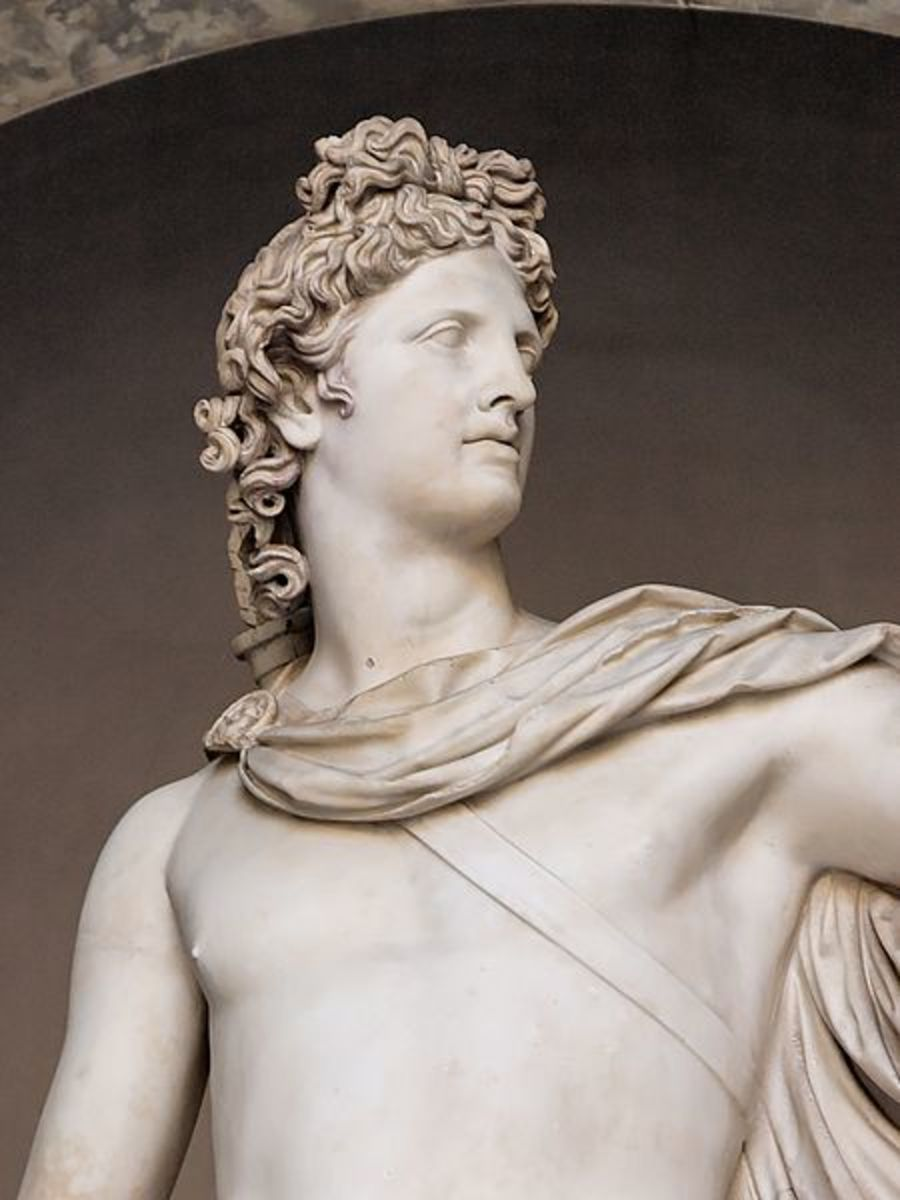 Apollo was the Greek God of the Sun
