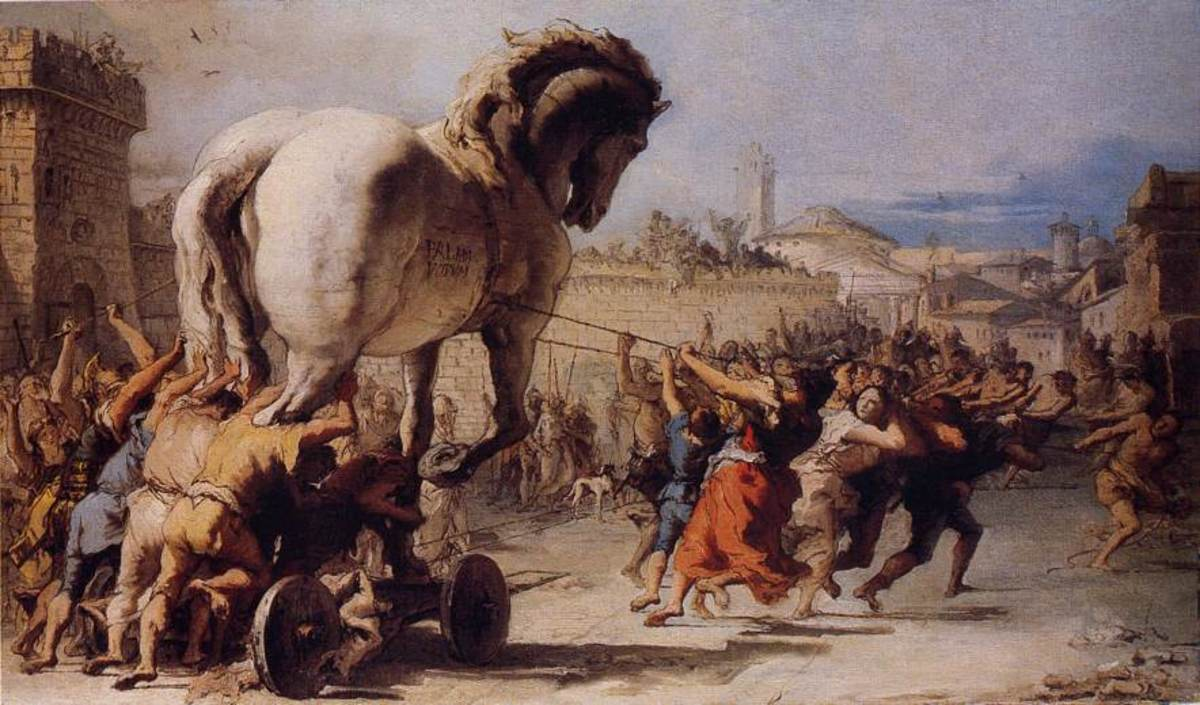 The Trojan War was a Bronze Age conflict between the kingdoms of Troy and Mycenaean Greece