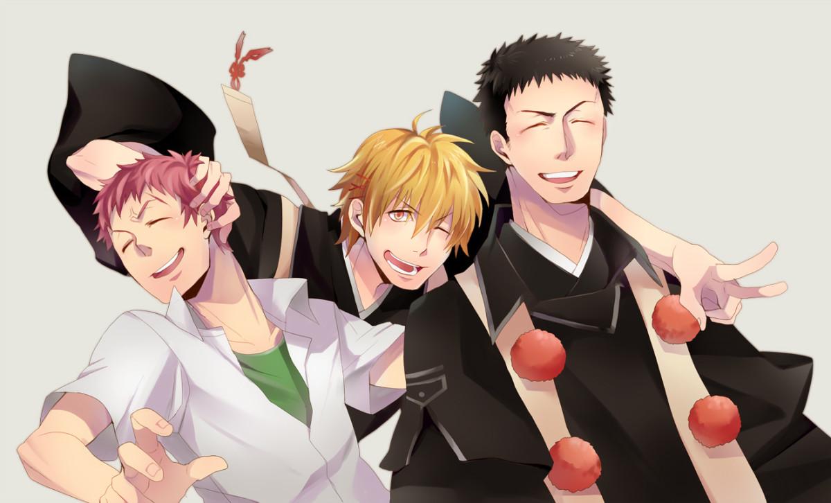 Renzo Shima and his brothers Kinzo Shima and Juzo Shima.