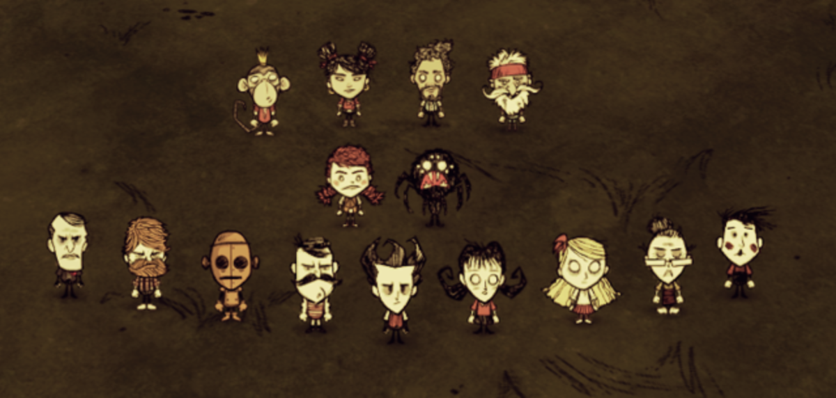 Awesome Character Mods for Don't Starve Together