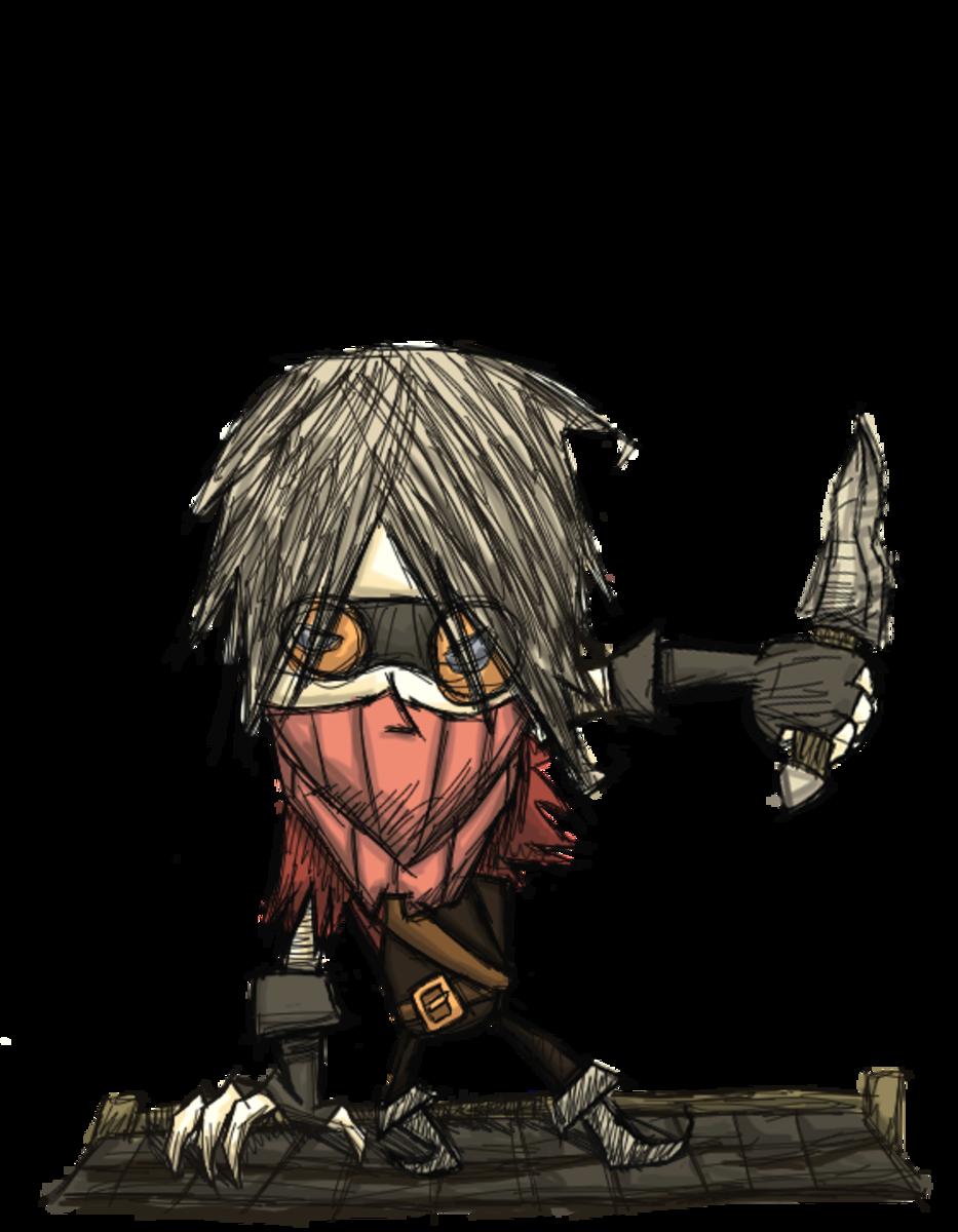 Don't Starve Character Mods; Warfarin - The Lost Urchin